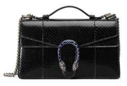 Dionysus-python-top-handle-bag