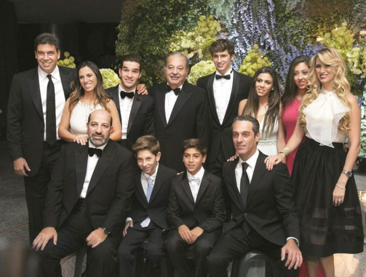 Carlos Slim Helu Family and their relationship.