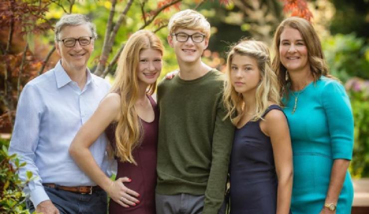 Bill Gates Family Life