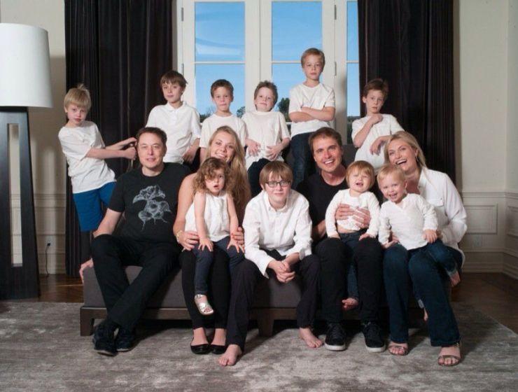elon musk family life